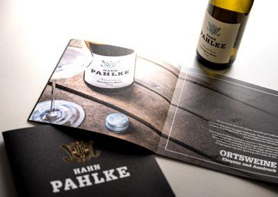 Weingut Hahn-Pahlke Imagebroschüre